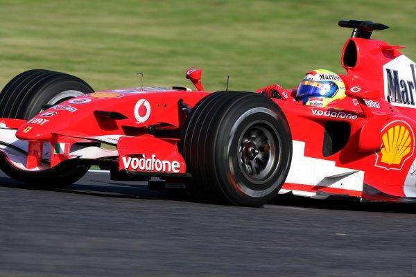 2006 Japanese Grand Prix - Sunday Race,  Suzuka, Japan. Felipe Massa, Ferrari 248F1, 2nd position, action. 8th October 2006  World Copyright: Steve Etherington/LAT Photographic  ref: 48mb Hi Res Digital Image Only