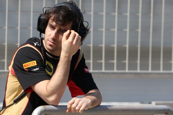 Nicholas Prost (FRA) Lotus. Formula One Testing, Day One, Bahrain International Circuit, Sakhir, Bahrain, Wednesday 19 February 2014.