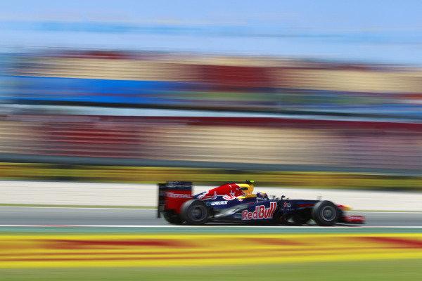 Circuit de Catalunya, Barcelona, Spain11th May 2012Mark Webber, Red Bull RB8 Renault. World Copyright:Andrew Ferraro/LAT Photographicref: Digital Image  _Q0C8706