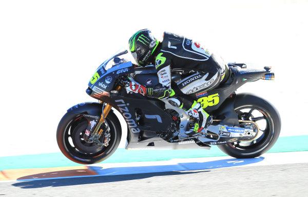 2017 MotoGP Championship - Valencia test, Spain. Tuesday 14 November 2017 Cal Crutchlow, Team LCR Honda World Copyright: Gold and Goose / LAT Images ref: Digital Image 706844