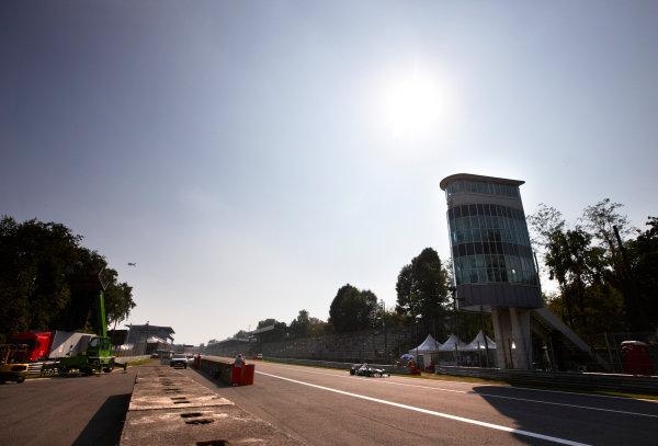 Autodromo Nazionale di Monza, Monza, Italy. 9th September 2011. Sergio Perez, Sauber C30 Ferrari. Action.  World Copyright: Steve Etherington/LAT Photographic ref: Digital Image SNE28963