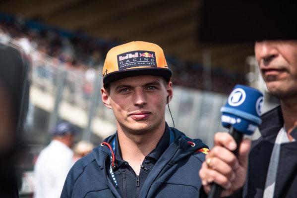 2017 DTM Round 6  Circuit Zandvoort, Zandvoort, Netherlands Sunday 20 August 2017. Max Verstappen, F1, Red Bull Racing World Copyright: Mario Bartkowiak/LAT Images ref: Digital Image 2017-08-20_DTM_Zandvoort_R2_0211