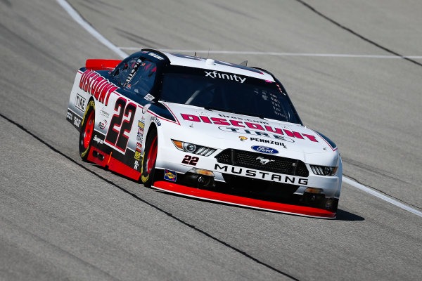 NASCAR XFINITY Series TheHouse.com 300 Chicagoland Speedway, Joliet, IL USA Friday 15 September 2017 Ryan Blaney, Discount Tire Ford Mustang World Copyright: Barry Cantrell LAT Images
