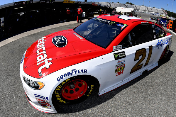 Monster Energy NASCAR Cup Series Federated Auto Parts 400 Richmond Raceway, Richmond, VA USA Friday 8 September 2017 Ryan Blaney, Wood Brothers Racing, Motorcraft/Quick Lane Tire & Auto Center Ford Fusion World Copyright: Rusty Jarrett LAT Images