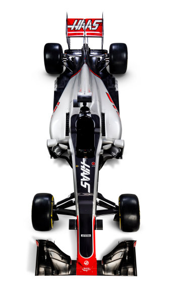 Haas VF-16 Studio Images. Thursday 18 February 2016. Photo: Haas F1 Team (Copyright Free FOR EDITORIAL USE ONLY) ref: Digital Image HAAS_01_TC