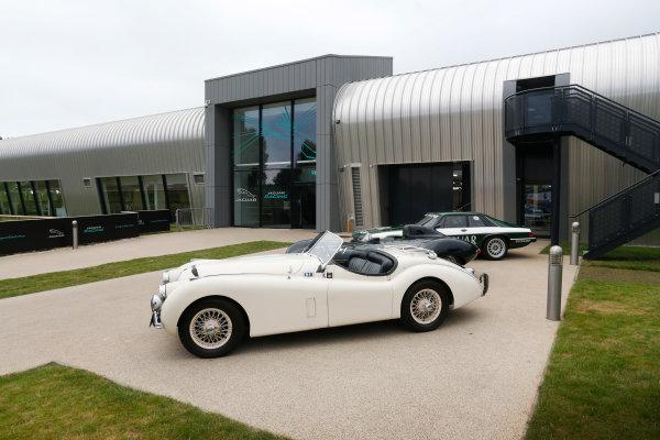 Jaguar Racing Official Formula E Launch Jaguar Heritage Collections Centre, Gaydon, UK Thursday 8 September 2016 . World Copyright: Andrew Ferraro/LAT Photographic ref: Digital Image _14P4334