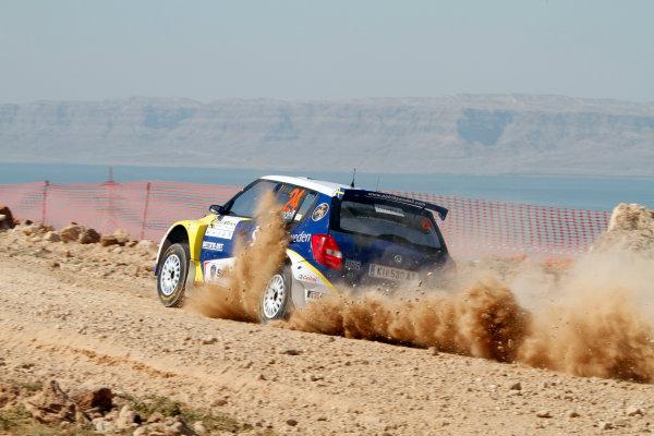 2010 FIA World Rally ChampionshipRound 01Rally Jordan 31/3 - 3/4  2010Patrik Sandell, Skoda S 2000, ActionWorldwide Copyright: McKlein/LAT