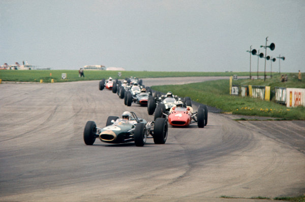 Silverstone, Great Britain. 14th May 1966.