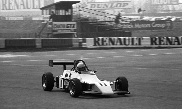 Race winner Ayrton Senna (BRA) Rushen Green Racing Van Diemen RF82.