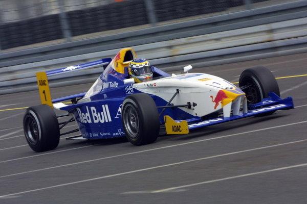 Reinhaurd Kofler (AUT) Mamerow Racing retired after 12 laps.Formula BMW ADAC Championship, Rd5, Norisring, Germany. 30 June 2002.DIGITAL IMAGEPRESS