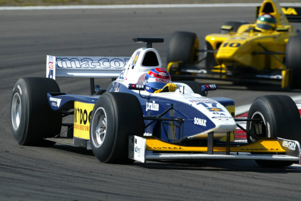 2004 Formula 3000 Championship (F3000) Nurburgring, Germany.29th May 2004. Tony Schmidt (Ma-Con Engineering). Action.World Copyright: LAT Photographic ref: Digital Image Only
