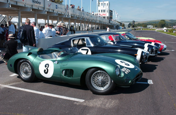2004 Goodwood Revival MeetingGoodwood, England. 3rd - 5th September 2004.Sussex Trophy World C'ship Sports CarsThe cars line up on the starting grid.World Copyright: Jeff Bloxham/LAT Photographicref: Digital Image Only