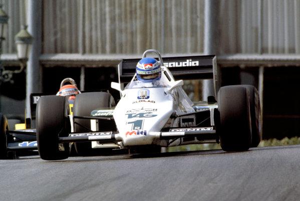 1983 Monaco Grand Prix.Monte Carlo, Monaco. 15 May 1983.Keke Rosberg (Williams FW08C-Ford Cosworth), 1st position.World Copyright: LAT Photographic