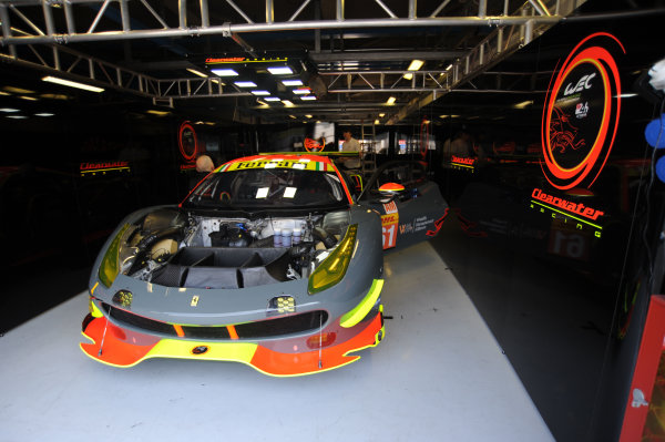 2017 FIA World Endurance Championship, 31st March - 2nd April, 2017, Monza Prologue, Weng Sun Mok (MYS) \ Keita Sawa (JPN) \ Matthew Griffin (IRL) - CLEARWATER RACING - Ferrari 488 GTE. World Copyright: JEP/LAT Images.