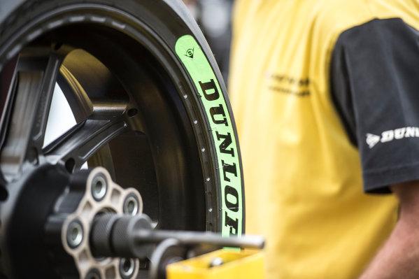 2017 Moto2 Championship - Round 4 Jerez, Spain Thursday 4 May 2017 Dunlop tyres World Copyright: Gold & Goose Photography/LAT Images ref: Digital Image 667634