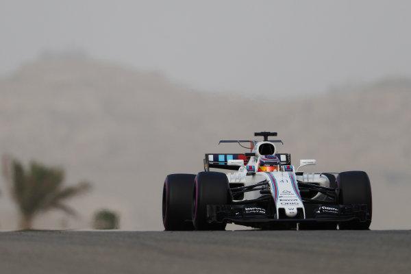Bahrain International Circuit, Sakhir, Bahrain.  Wednesday 19 April 2017. Gary Paffett, Williams FW40 Mercedes.  World Copyright: Glenn Dunbar/LAT Images ref: Digital Image _X4I4703