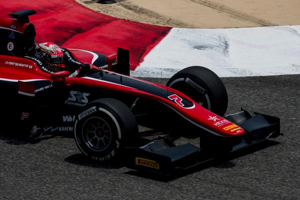 2017 FIA Formula 2 Round 1. Bahrain International Circuit, Sakhir, Bahrain.  Friday 14 April 2017. Nobuharu Matsushita (JPN, ART Grand Prix)  Photo: Zak Mauger/FIA Formula 2. ref: Digital Image _56I9461