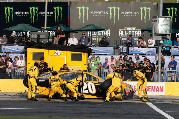 Monster Energy NASCAR Cup Series Monster Energy NASCAR All-Star Race Charlotte Motor Speedway, Concord, NC USA Friday 19 May 2017 Matt Kenseth, Joe Gibbs Racing, DEWALT Benefiting Wounded Warriors Project Toyota Camry World Copyright: Matthew T. Thacker LAT Images ref: Digital Image 17CLT1mt1410