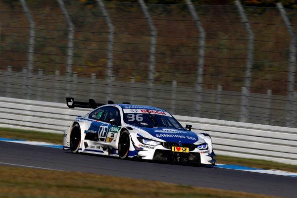 2017 DTM Round 9  Hockenheimring, Germany  Sunday 15 October 2017. Maxime Martin, BMW Team RBM, BMW M4 DTM  World Copyright: Alexander Trienitz/LAT Images ref: Digital Image 2017-DTM-HH2-AT3-1922