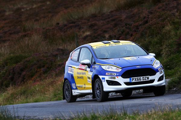 2017 Prestone MSA British Rally Championship, Rally Isle of Man. 14th - 16th September 2017. James McDiarmid / Max Haines Messenger Ford Fiesta. World Copyright: JEP/LAT Images