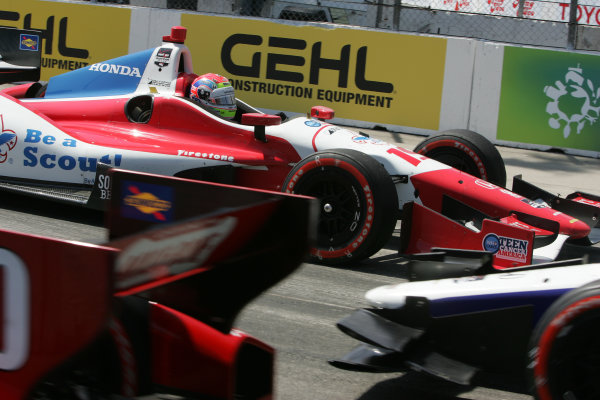 11-13 April, 2014, Long Beach, California USA Justin Wilson spins in turn 11 ©2014, Leland Hill LAT Photo USA