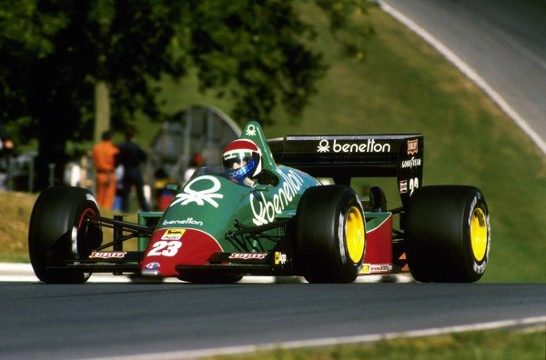 Eddie Cheever (USA) Alfa-Romeo 184T, 11th place.