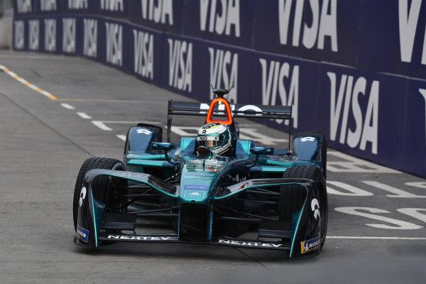 2017/2018 FIA Formula E Championship. Round 1 - Hong Kong, China. Saturday 02 December 2018. Luca Filippi (ITA), NIO Formula E Team, NextEV NIO Sport 003. Photo: Mark Sutton/LAT/Formula E ref: Digital Image DSC_8373