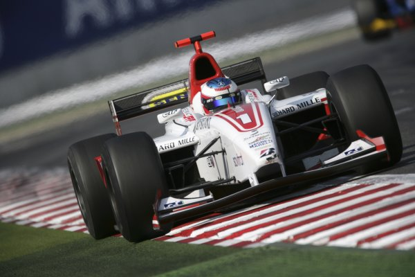 2006 GP2 Series. Round 7 . Magny-Cours, France. 16th July.Sunday Race Alexandre Premat (FRA, ART Grand Prix). Action.  World Copyright: Charles CoatesGP2 Series Media Service. ref: Digital Image ZK5Y9423