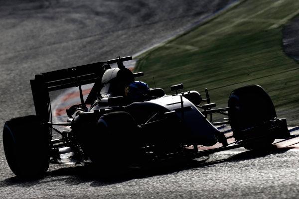 Circuit de Catalunya, Barcelona, Spain Tuesday 23 February 2016. Max Verstappen, Toro Rosso STR11 Ferrari.  World Copyright: Glenn Dunbar/LAT Photographic ref: Digital Image _89P4583