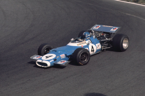 1969 Mexican Grand Prix.  Mexico City, Mexico. 17-19th October 1969.  Jean-Pierre Beltoise, Matra MS80 Ford, 5th position.  Ref: 69MEX09. World Copyright: LAT Photographic