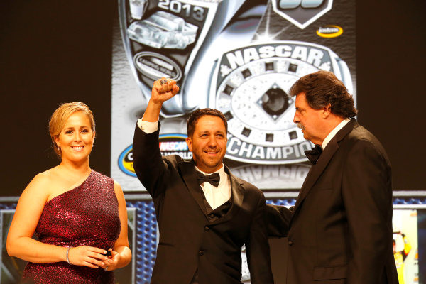 18 November, 2013, Miami Beach, Florida, USA Matt Crafton with championship ring © 2013, Michael L. Levitt LAT Photo USA