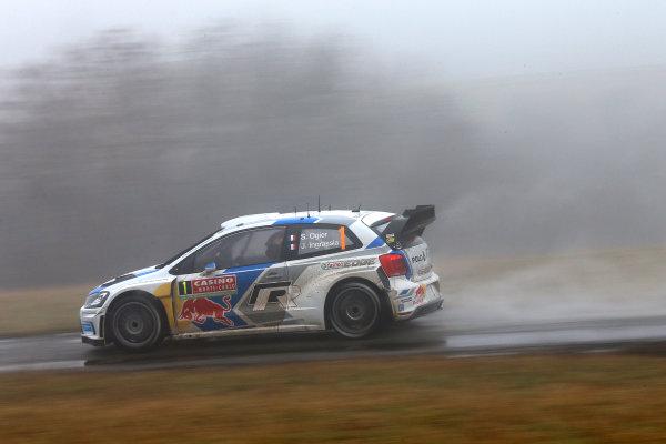 2014 World Rally Championship Monte Carlo Rally 13th - 19th January 2014 Sebastien Ogier, Volkswagen, action  Worldwide Copyright: McKlein/LAT