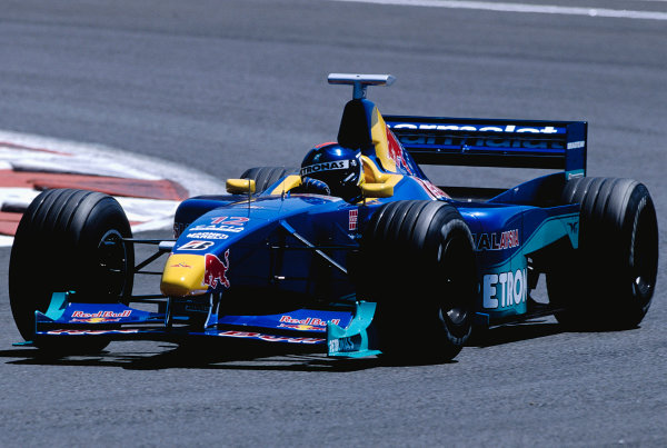 1999 French Grand Prix.Magny-Cours, France. 25-27 June 1999.Pedro Diniz (Sauber C18 Petronas).Ref-99 FRA 26.World Copyright - Gavin Lawrence/LAT Photographic