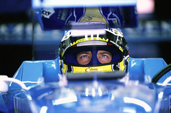 Alex Wurz, Benetton.