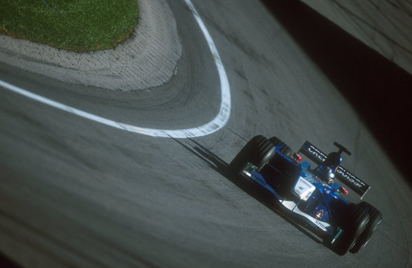 2001 United States Grand Prix.Indianapolis, Indiana, USA.28-30 September 2001.Nick Heidfeld (Sauber C20 Petronas) 5th position.Ref-01 USA 16.World Copyright - LAT Photographic