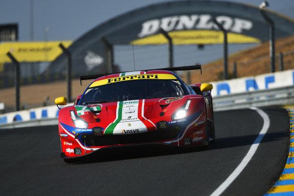 #71 AF Corse Ferrari 488 GTE EVO: Davide Rigon, Miguel Molina, Sam Bird.