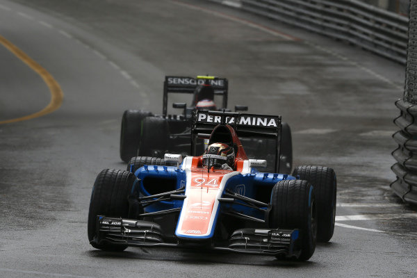 Pascal Wehrlein (GER) Manor Racing MRT05 at Formula One World Championship, Rd6, Monaco Grand Prix, Race, Monte-Carlo, Monaco, Sunday 29 May 2016.