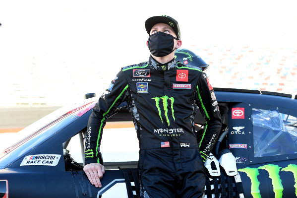 Riley Herbst, Joe Gibbs Racing Toyota Monster Energy, Copyright: Jared C. Tilton/Getty Images.