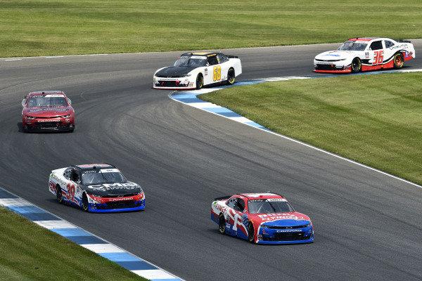 #1: Michael Annett, JR Motorsports, Chevrolet Camaro AHA/Pilot Flying J and #39: Ryan Sieg, RSS Racing, Chevrolet Camaro CMRRoofing.com