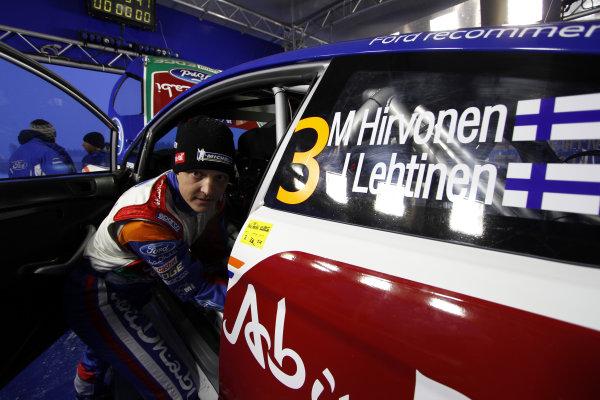 Round 01-Rally Sweden. 10th-13th February 2011.Mikko Hirvonen, Ford WRC, Portrait.Worldwide Copyright: McKlein/LAT