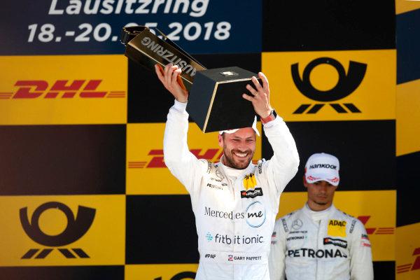 Podium: Race winner Gary Paffett Mercedes-AMG Team HWA.