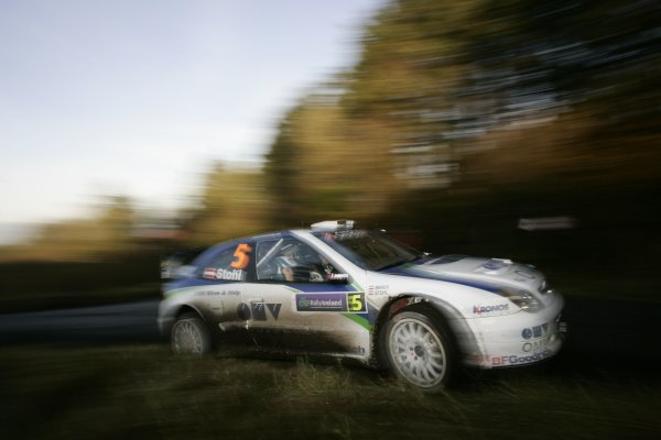 2007 World Rally ChampionshipRally Ireland 15th-18th November 2007,Manfred Stohl, Citreon, ActionWorld Copyright: McKlein/LAT