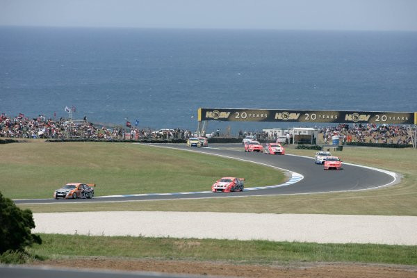 during the Dunlop Grand Finale, Round 14 of the Australian V8 Supercar Championship Series at the Phillip Island Grand Prix Circuit, Phillip Island, Victoria November 30-December 2, 2007.
