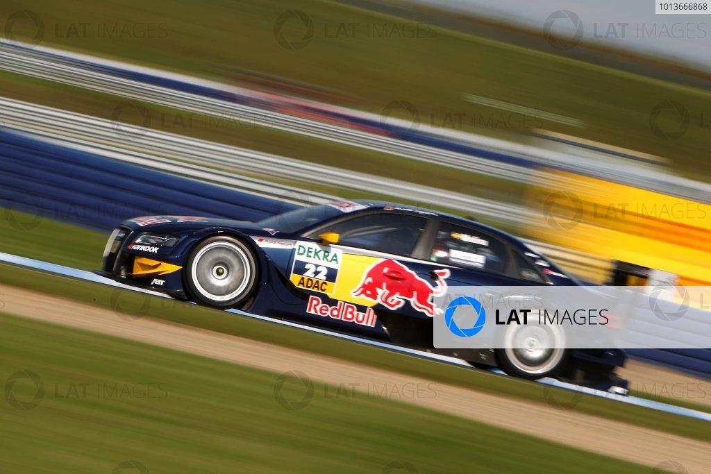 Mattias Ekstrom (SWE), Audi Sport Team Abt Sportsline, Red Bull Audi A4 DTM (2009).DTM, Rd8, Oschersleben, Germany, 16-18 September 2011 Ref: Digital Image dne1117se583