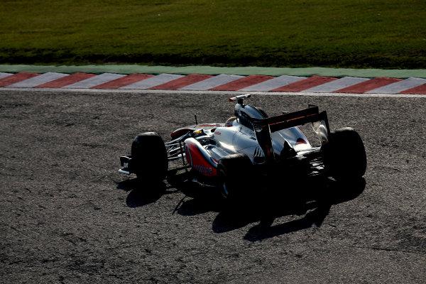 Suzuka Circuit, Suzuka, Japan.7th October 2011.Lewis Hamilton, McLaren MP4-26 Mercedes. Action. World Copyright: Glenn Dunbar/LAT Photographicref: Digital Image IMG_2621
