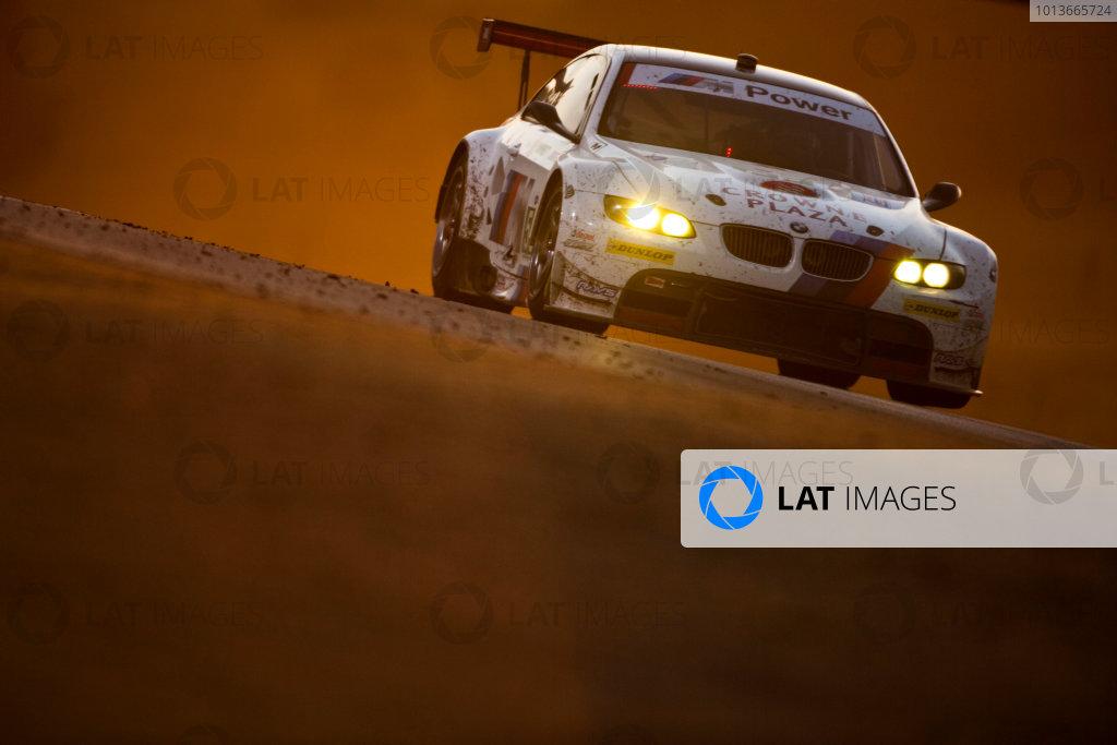 American Le Mans Series. Laguna Seca, Monterey, California. 15th - 17th September 2011. Dirk Mueller / Joey Hand, BMW Team RLL, BMW E92 M3. Action. Photo: Drew Gibson/LAT Photographic. ref: Digital Image _Y2Z7102