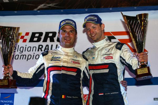 2017 Prestone MSA British Rally Championship,  Ypres Rally, Ypres, Belgium. 22nd - 24th June 2017. Kevin Abbring / Pieter Tsjoen Peugeot 208 T16. World Copyright: JEP/LAT Images.