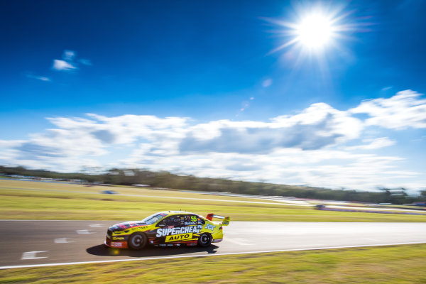 2016 Supercars Championship Round 8.  Ipswich SuperSprint, Queensland Raceway, Willowbank, Queensland, Australia. Friday 22nd July to Sunday 24th July 2016. Chaz Mostert drives the #55 Supercheap Auto Racing Ford Falcon FGX. World Copyright: Daniel Kalisz/LAT Photographic Ref: Digital Image 220716_VASCR8_IPSWICH_DKIMG_0604.JPG