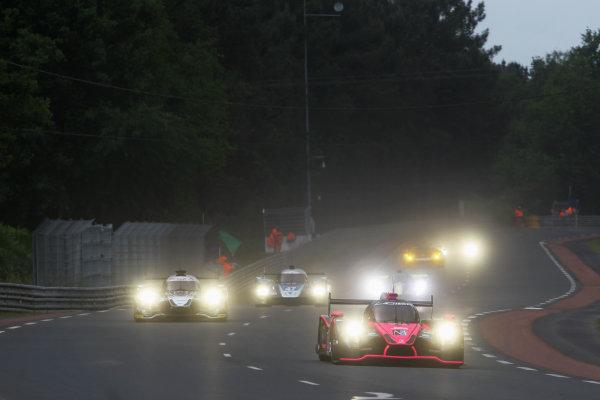 2015 Le Mans 24 Hours Test Day, Le Mans, France. 31st May 2015. Jacques Nicolet / Jean-Marc Merlin / Erik Maris Oak Racing Ligier JS P2 Nissan. World Copyright: Ebrey / LAT Photographic.
