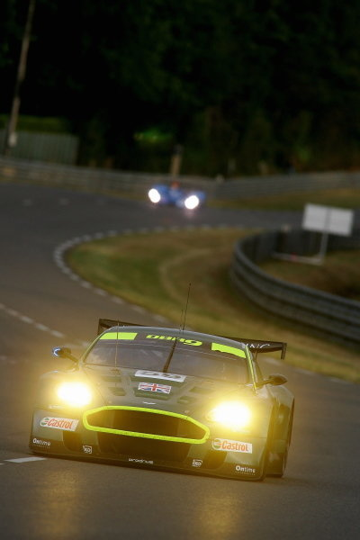 David Brabham (AUS) / Stephane Sarrazin (FRA) /  Darren Turner(GBR), Aston Martin Racing DBR9, was second fastest in the GT1 class after Thursdays qualifying.